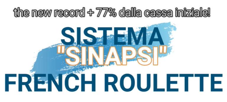 """Come Vincere alla Roulette Online french roulette nuova sessione con sistema """"sinapsi"""""""