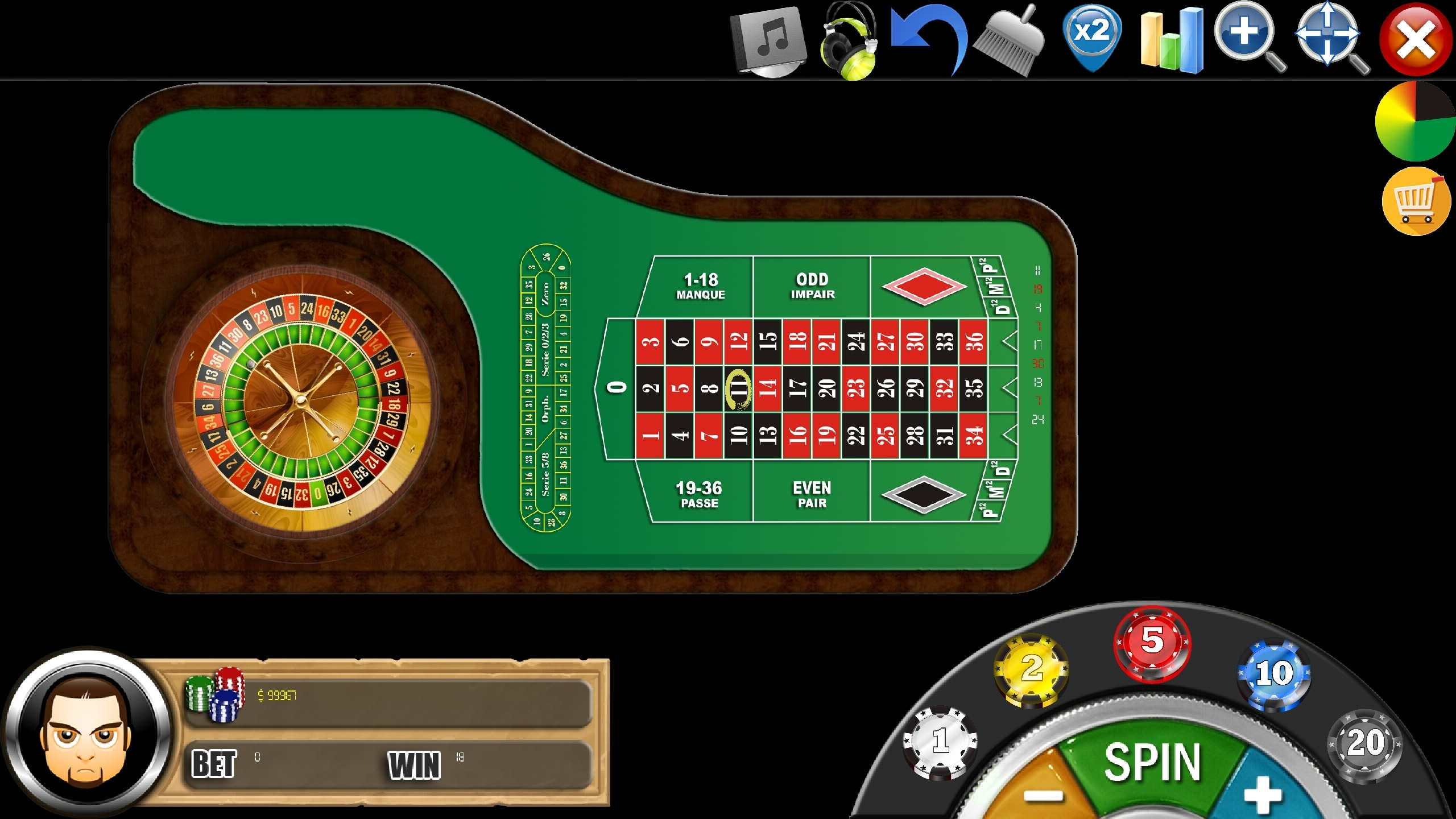 FRENCH Roulette FREE - App Overview