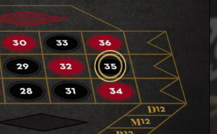 Winning Marker in NetEnt French Roulette - Click here to Play It at Leo Vegas online casino