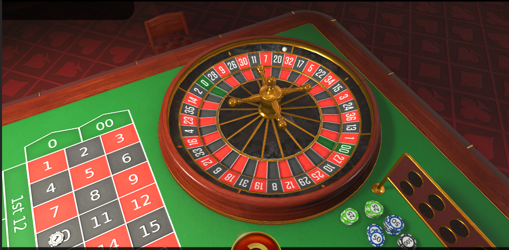 EvoPlay Entertainment Roulette Software American Roulette 3D Game