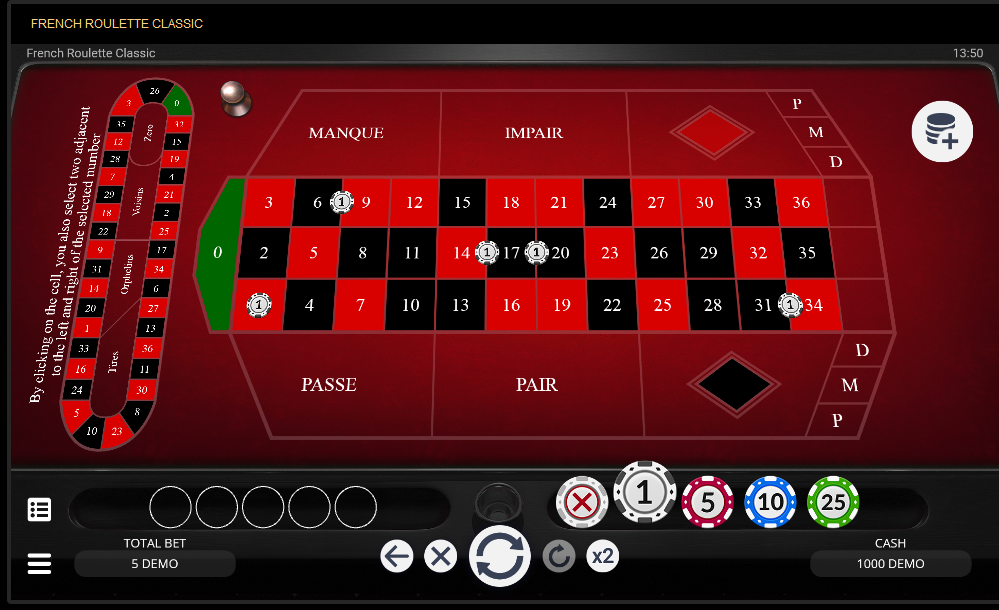 EvoPlay Entertainment Roulette Software French Roulette Classic
