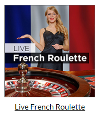Live French Roulette at Mansion Casino