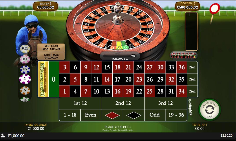 PlayTech Frankie Dettoris Roulette Software