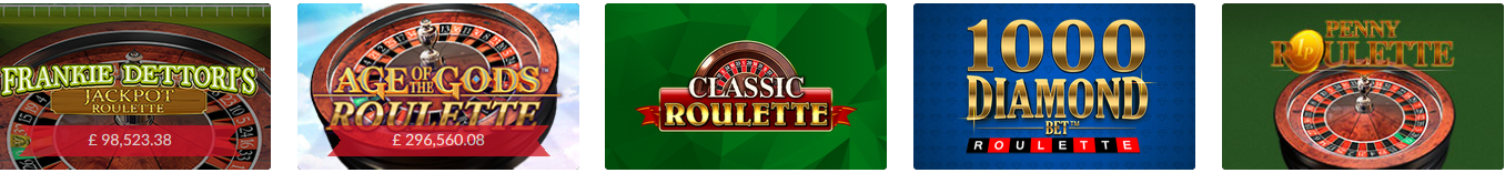 Roulette Software at Mansion Casino