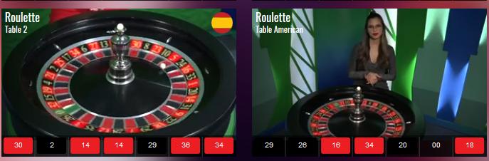 Vivo Gaming Live Roulette 2