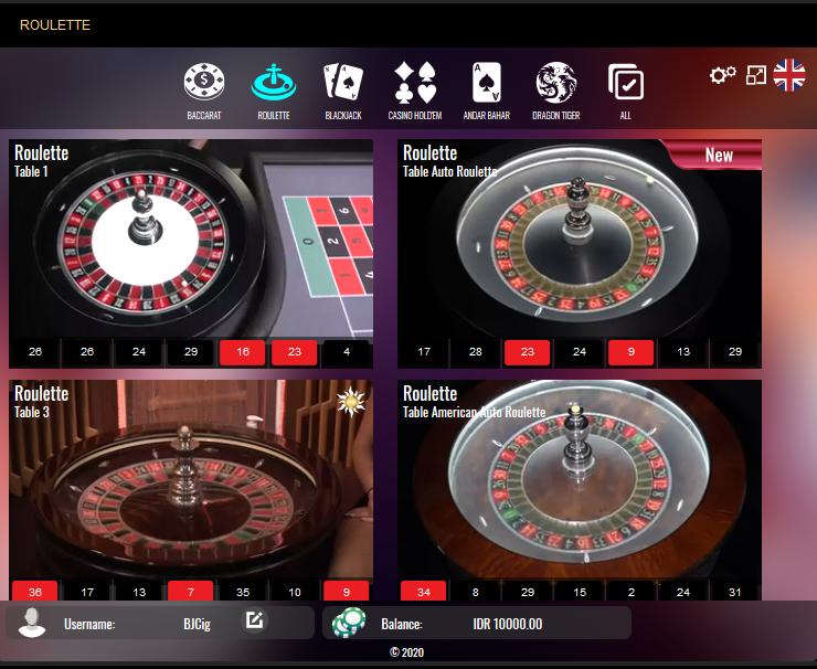 Vivo Gaming Live Roulette
