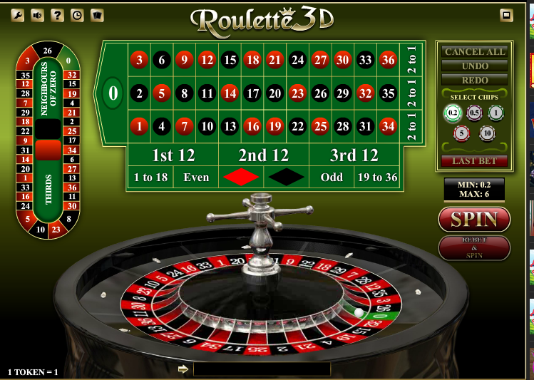 iSoftBet Roulette 3D with Special Bets